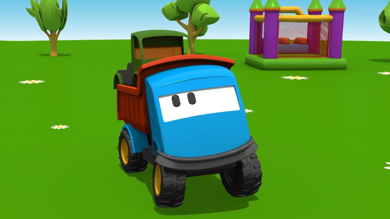Cartoni Animati per bambini: Leo e il Camion Cisterna