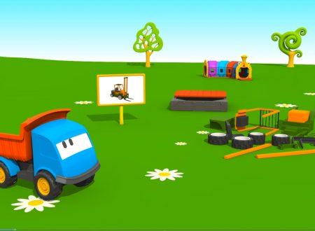 Cartoni Animati per Bambini: Leo il Camion Curioso e Il Muletto