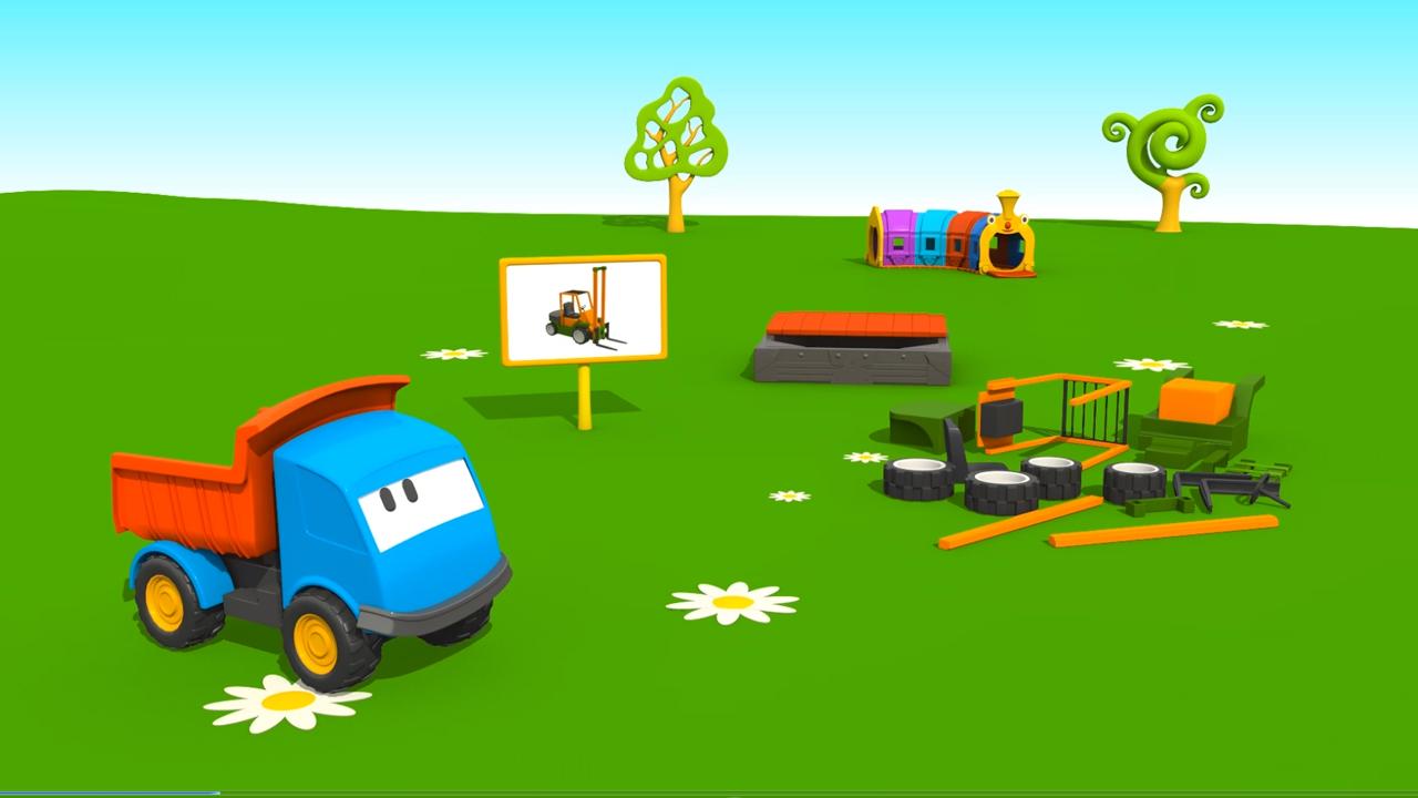 Cartoni Animati per bambini: Leo e il Muletto