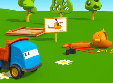 Cartoni Animati: Leo il Camion Curioso e l'Elicottero