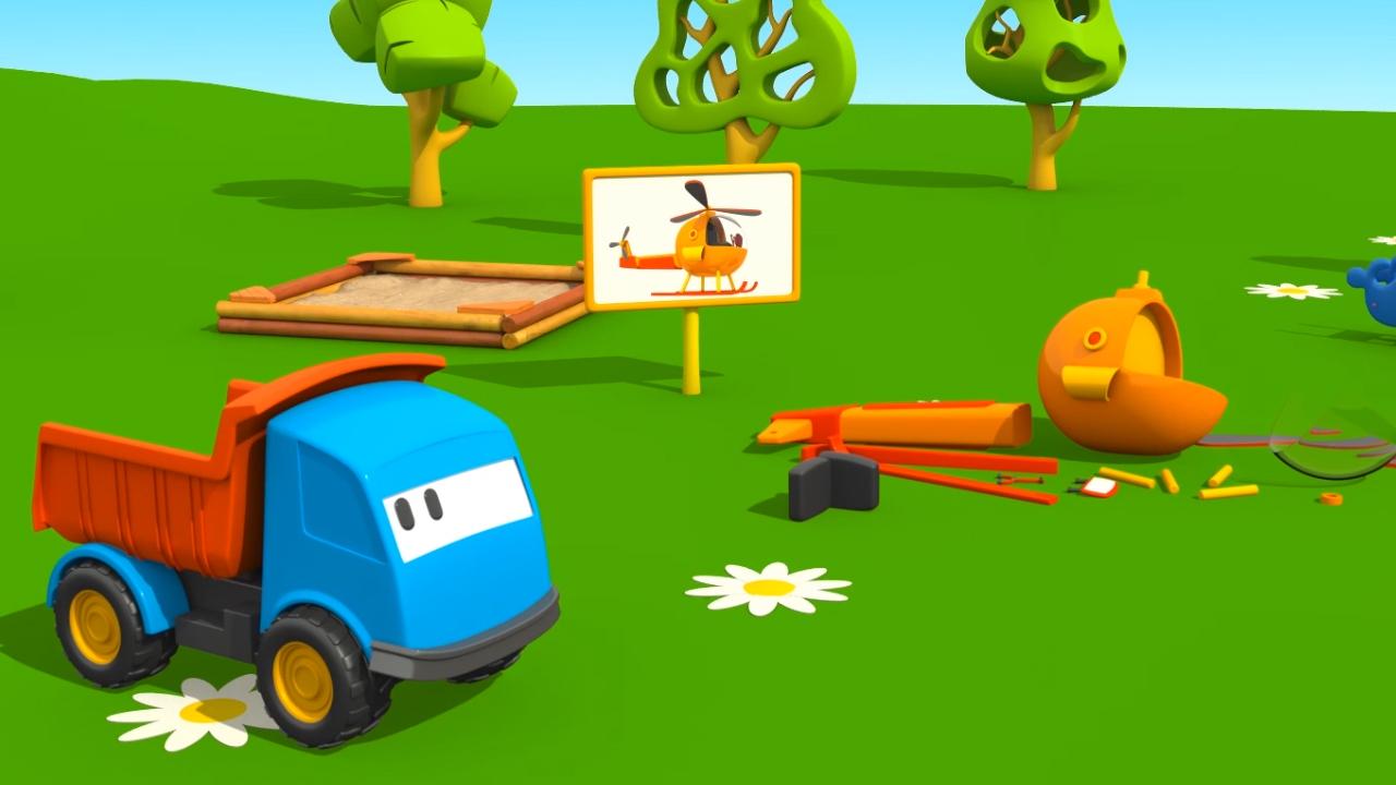 Cartoni Animati per bambini: Leo e l'elicottero