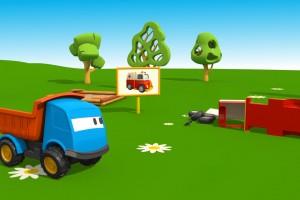 Cartoni Animati: Leo il Camion Curioso e e l'Ambulanza
