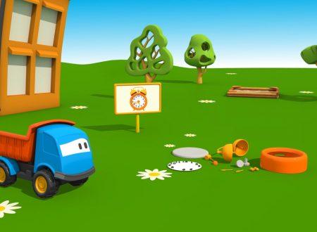Cartoni Animati per Bambini: Leo il Camion Curioso e la sveglia