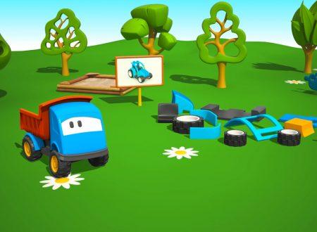 Cartoni Animati per Bambini – Leo il Camion Curioso e il Trattore