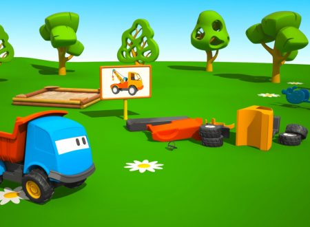 Cartoni Animati per bambini: Leo il Camion Curioso e il Carro Attrezzi