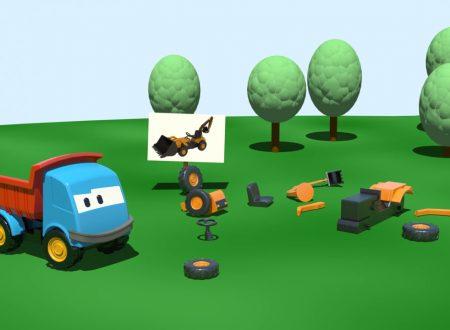 Cartoni Animati: Leo il camion curioso e la Pala Meccanica