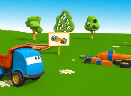 Cartoni Animati per Bambini: Leo il Camion Curioso e le Macchine Sportive