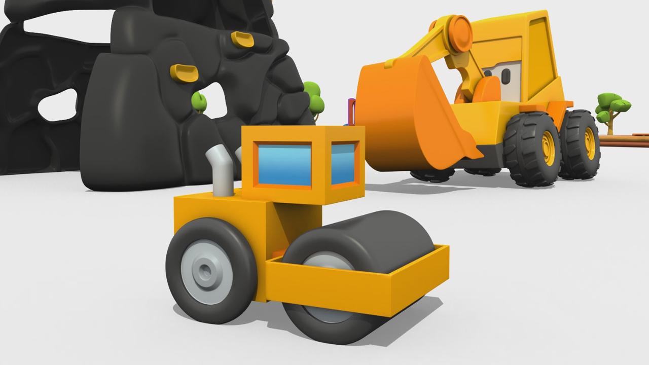 Max l'escavatore: come si costruisce un rullo compressore?