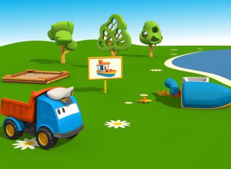 Cartoni Animati per Bambini: Leo il Camion Curioso e la barca
