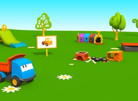 Cartoni Animati per Bambini: Leo il Camion Curioso e il Pickup