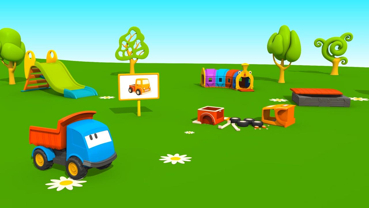 Cartoni Animati per bambini: Leo e il Pickup