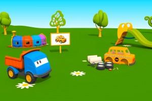 Cartoni Animati per Bambini: Leo il Camion Curioso e il Taxi