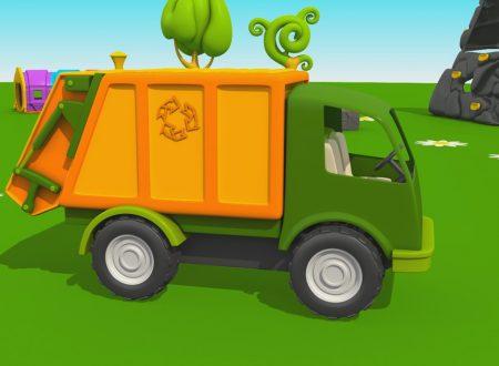 Cartoni Animati per Bambini – Leo il Camion Curioso: come fare il camion della spazzatura?