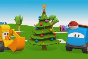 Leo il camion e l' albero di Natale