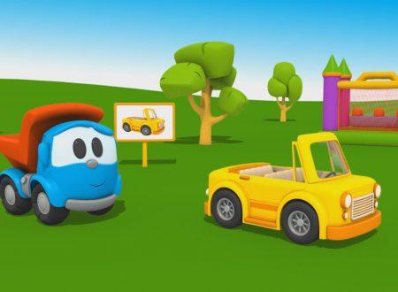 Cartoni Animati per Bambini – Leo Junior: come si fa una macchinina decappottabile?