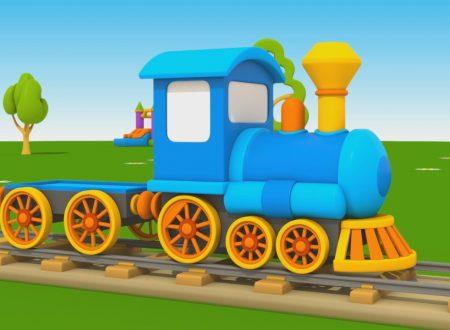 Cartoni Animati per Bambini – Leo Junior: Come si fa una locomotiva?