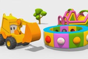Cartoni Animati per Bambini – L'escavatore Max e la fantastica giostra: gli abiti