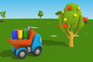 Cartoni Animati per Bambini – Leo Junior e l'albero di mele: coloriamo insieme