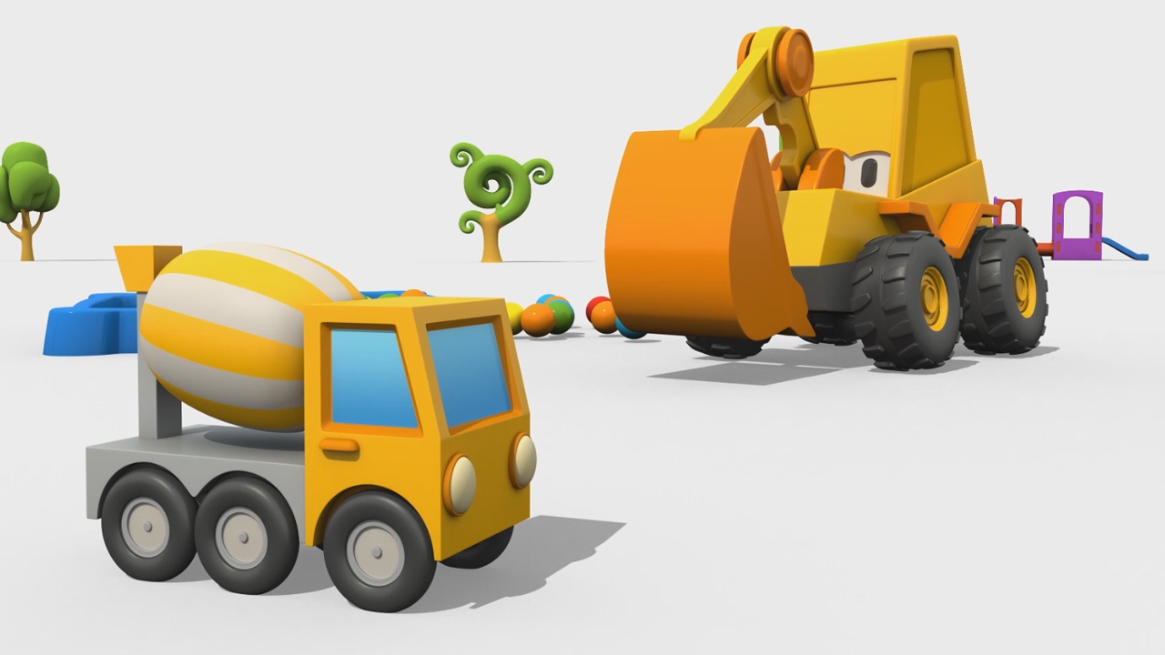 Max l'escavatore: come si fa una betoniera?