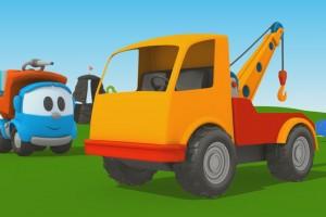 Cartoni Animati per Bambini – Leo Junior: coloriamo insieme il carro attrezzi