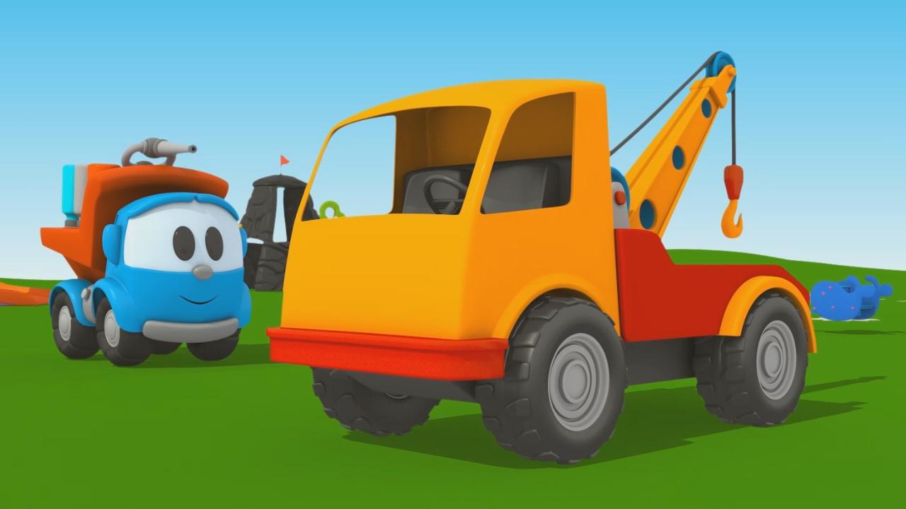 Leo Junior: coloriamo insieme il carro attrezzi