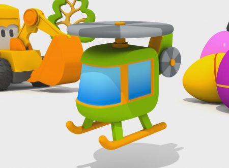 Cartoni Animati per bambini – Max l'escavatore – Come si fa un'elicottero?