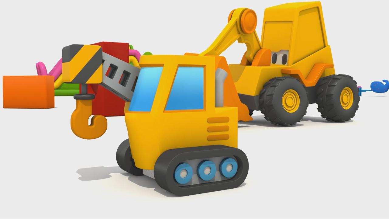 Cartoni animati per bambini l escavatore max come si fa