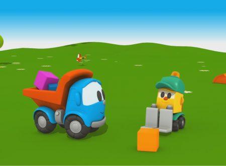 Cartoni Animati per bambini—Camioncino Leo Junior e Lifty il carrello elevatore