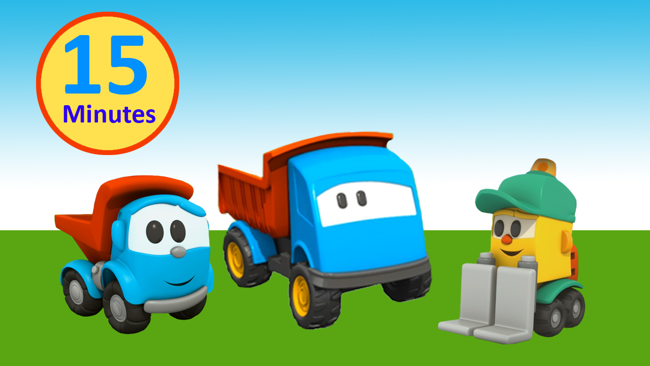 Cartoni animati - Amici di Leo il Camion Curioso