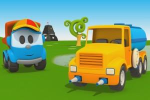 Cartoni Animati per Bambini – Leo Junior e l'autobotte
