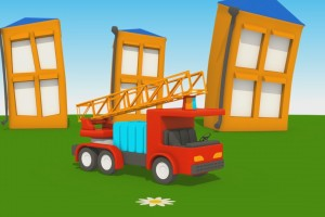 Cartoni per Bimbi – Leo Jr e il camion dei pompieri