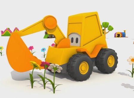 L'escavatore Max e la giostra: I Fiori