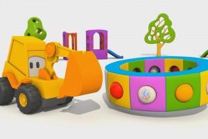 Cartoni Animati per Bambini – L'escavatore Max e la fantastica giostra: gli insetti