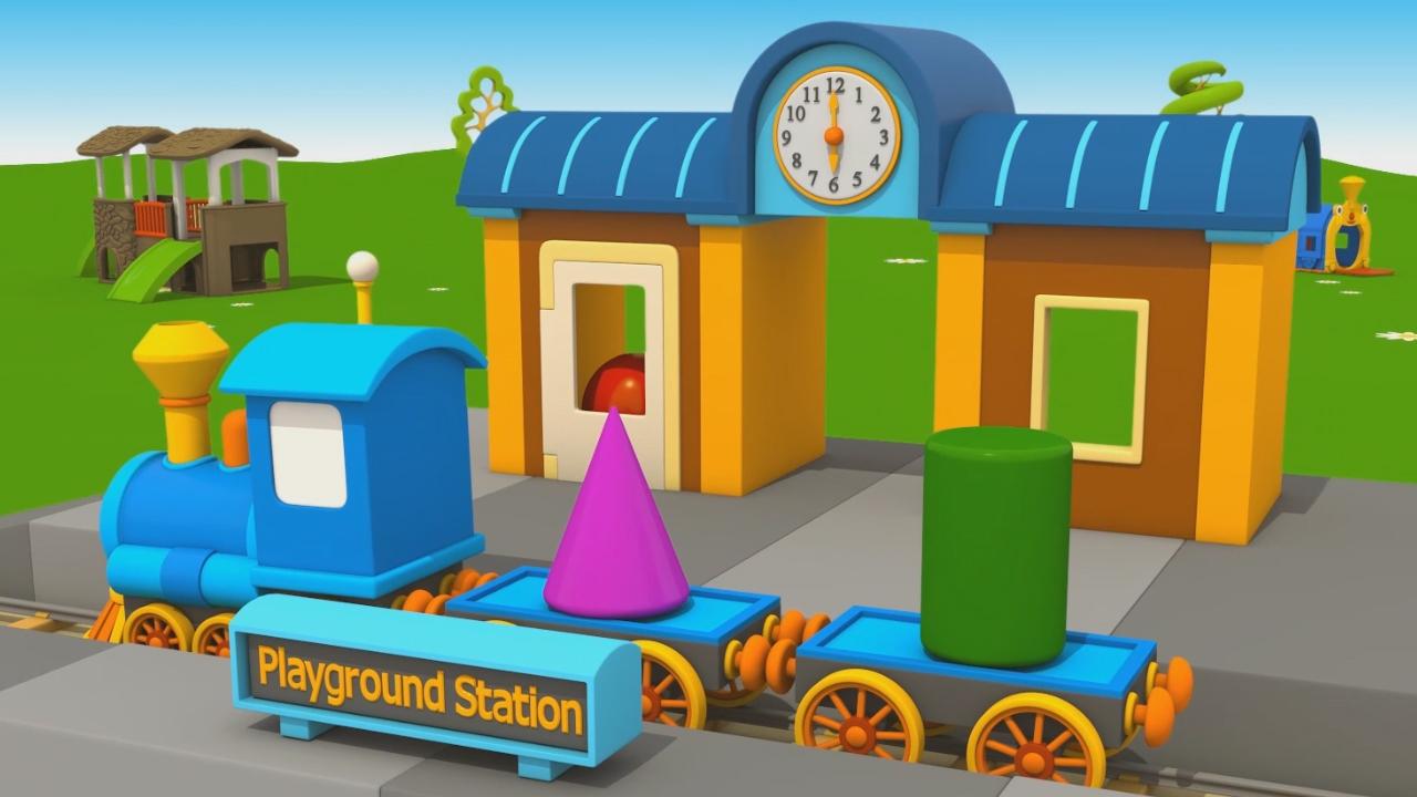 Leo Junior e la nuova stazione del treno