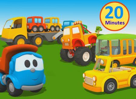 Cartoni Animati per bambini – Camioncino Leo: Macchine e macchinoni