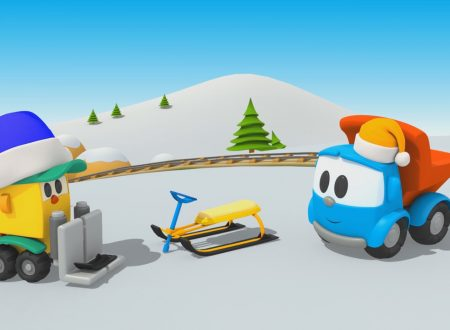 Cartoni animati – Camioncino Leo Junior e lo slittino da neve