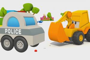 Max e ovetti sorpresa:Auto della polizia