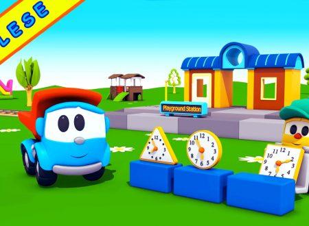 Inglese per i bambini-Leo e la stazione