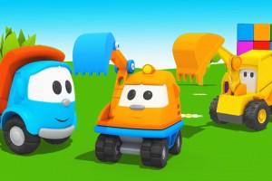 Cartoni animati per i bambini: Leo junior e piccolo escavatore Scoop