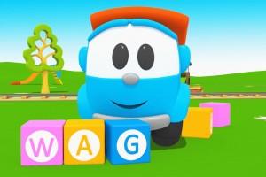 Leo Junior alfabeto, Parole in inglese, Lettera W