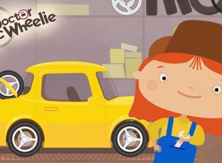 Cartoni animati: Dottoressa Mac Wheelie e la macchina gialla