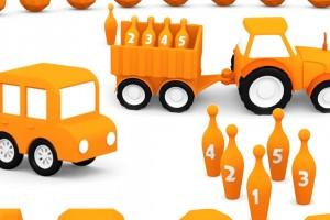 Macchinine colorate: il colore arancione
