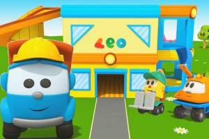 Leo Junior e la nuova casa: Cartoni animati