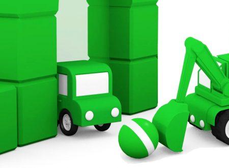 Macchinine colorate: Il colore verde