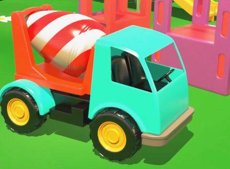 Al parco giochi: Cosa fa una betoniera?