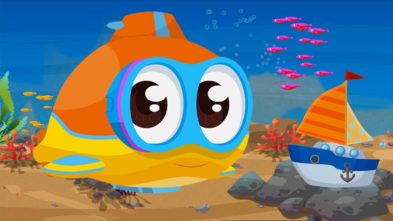 Il sottomarino oscar e la barca cartone dei piccoli