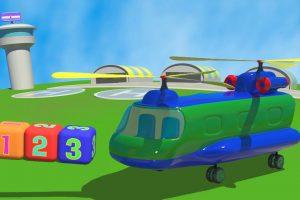 All'aeroporto: L'elicottero cargo!
