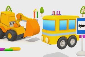 L'escavatore Max e il piccolo autobus