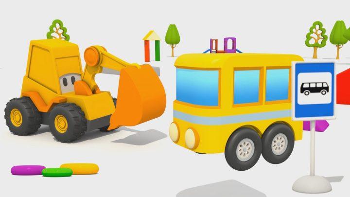 ruspa max e piccolo autobus