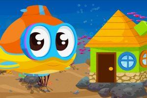 Oscar il sottomarino e la casa